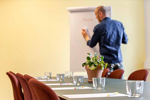 Opstartsseminar med erhvervskonsulent Jes Petterson
